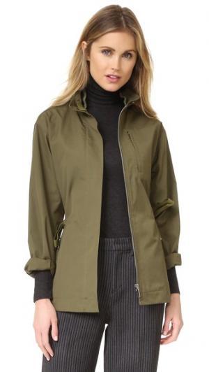 Куртка в стиле милитари Grey Jason Wu. Цвет: темно-оливковый