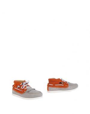 Полусапоги и высокие ботинки DOLFIE. Цвет: светло-серый