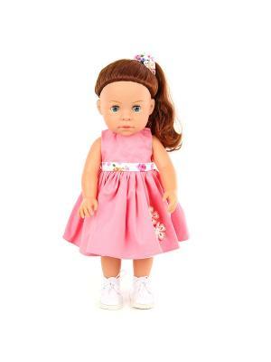 Кукла Джулия 37см, можно купать Lisa Jane. Цвет: темно-бежевый