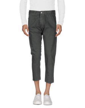 Джинсовые брюки 2W2M. Цвет: стальной серый