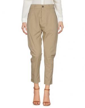 Повседневные брюки NOVEMB3R. Цвет: песочный