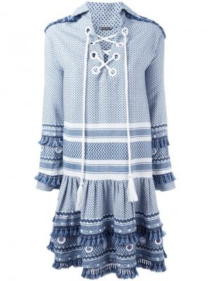 Платье Gadielle Dodo Bar Or. Цвет: синий