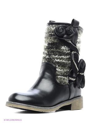 Ботинки Yaro. Цвет: черный