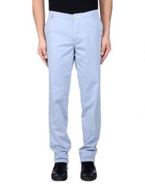 Повседневные брюки DIMATTIA. Цвет: небесно-голубой