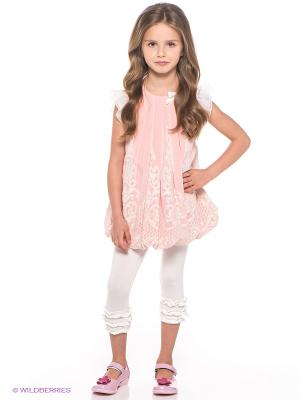 Комплект одежды Baby Steen. Цвет: молочный, бледно-розовый