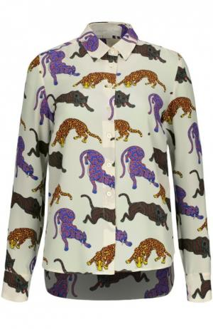 Блуза Stella McCartney. Цвет: кремовый