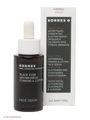 Сыворотка укрепляющая против морщин с черной сосной, 30 мл Korres. Цвет: белый
