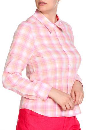 Блуза FIORA BLUE. Цвет: розовый