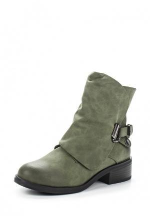 Ботинки Saivvila. Цвет: зеленый