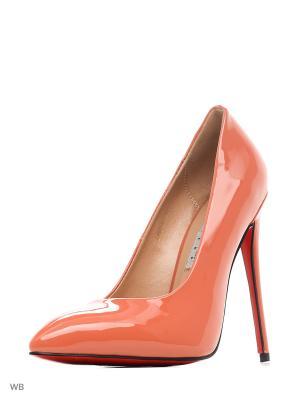 Туфли LINO MARANO. Цвет: оранжевый