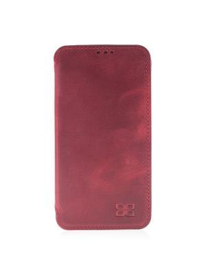 Кожаный чехол книжка Samsung Galaxy S7 Edge Bouletta. Цвет: красный