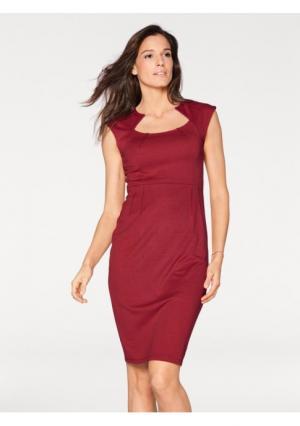 Платье PATRIZIA DINI. Цвет: красный