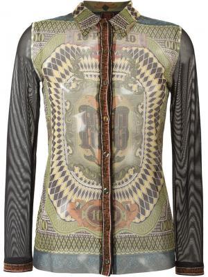 Рубашка Le Grand Voyage Jean Paul Gaultier Vintage. Цвет: многоцветный