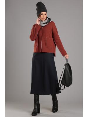 Куртка ЭНСО. Цвет: рыжий