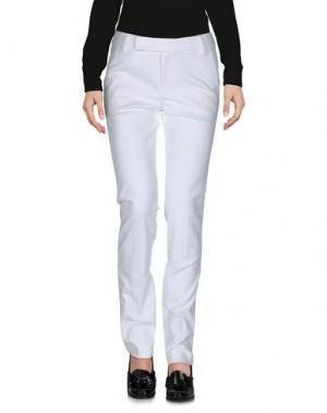 Повседневные брюки STRENESSE. Цвет: белый