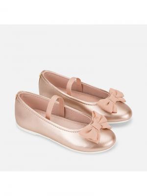 Туфли Mayoral. Цвет: розовый