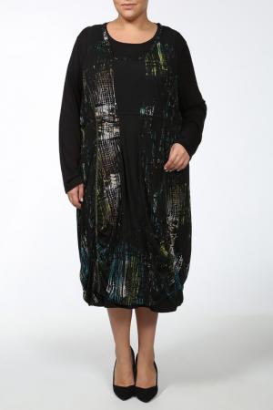 Платье Alain Weiz. Цвет: мультицвет