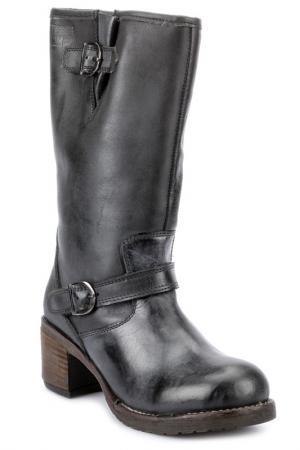 High boots PEPERONI. Цвет: black