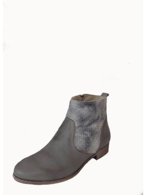 Ботинки Smalto. Цвет: серо-зеленый, серый