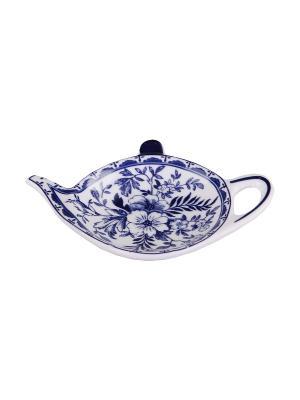 Подставка под чайный пакетик PATRICIA. Цвет: синий