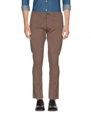 Повседневные брюки ALV ANDARE LONTANO VIAGGIANDO. Цвет: голубиный серый