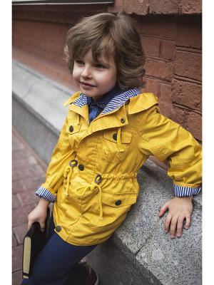 Куртка Oldos. Цвет: горчичный