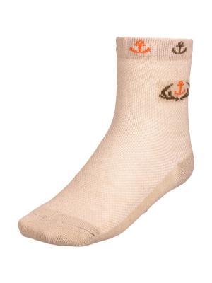 Носки BAYKAR. Цвет: бежевый