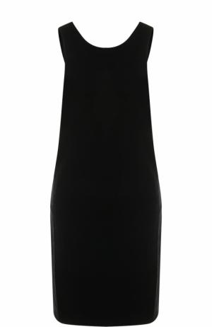 Бархатное платье-миди без рукавов Elizabeth and James. Цвет: черный