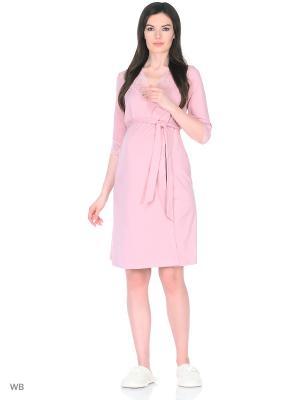 Халат для беременных FEST. Цвет: лиловый