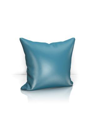 Декоративная подушка Avery Kauffort. Цвет: синий