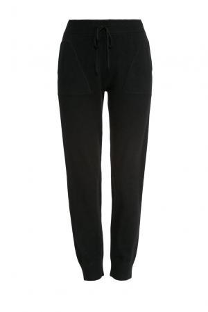 Трикотажные брюки 154452 Zhor & Nema. Цвет: черный