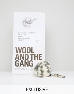 Wool and the Gang Набор сделай сам &. Цвет: серый
