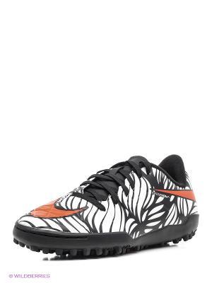 Шиповки JR HYPERVENOM PHELON II NJR TF Nike. Цвет: черный