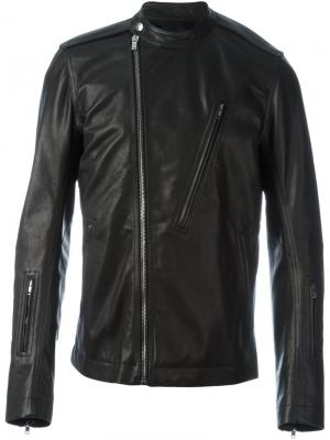 Байкерская куртка Rick Owens. Цвет: чёрный