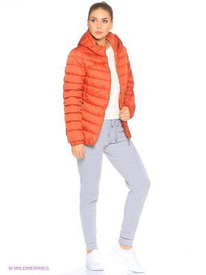 Куртка Grishko. Цвет: терракотовый