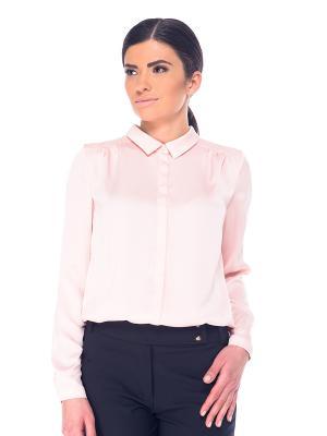 Блузка- боди Arefeva. Цвет: розовый