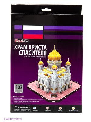 Пазл Храм Христа Спасителя CubicFun. Цвет: белый