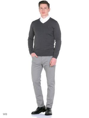 Пуловер Men of all nations. Цвет: темно-серый