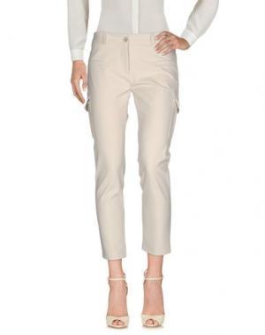 Повседневные брюки ALFONSO RAY. Цвет: светло-серый