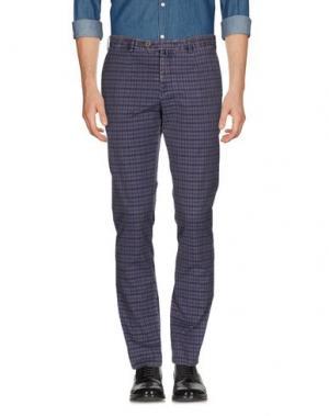 Повседневные брюки VERDERA. Цвет: фиолетовый