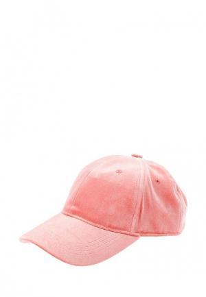 Бейсболка Pieces. Цвет: розовый