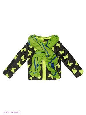 Куртка Fobs. Цвет: салатовый