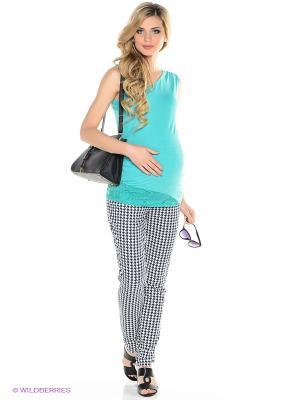 Брюки для беременных ФЭСТ. Цвет: темно-синий
