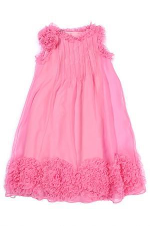 Платье Mariella Burani. Цвет: розовый