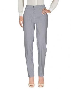 Повседневные брюки JEANS & POLO. Цвет: свинцово-серый