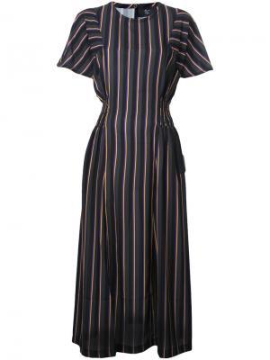 Платье Aleksei Maison Olga. Цвет: многоцветный