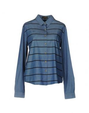 Pубашка LE MONT ST MICHEL. Цвет: синий