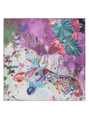 Платок Eleganzza. Цвет: зеленый, голубой, лиловый, малиновый, морская волна, светло-серый, фуксия