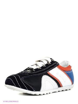Кроссовки Alaska Originale. Цвет: черный, синий, красный, белый