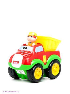 Машина Самосвал Kiddieland. Цвет: зеленый, красный, желтый